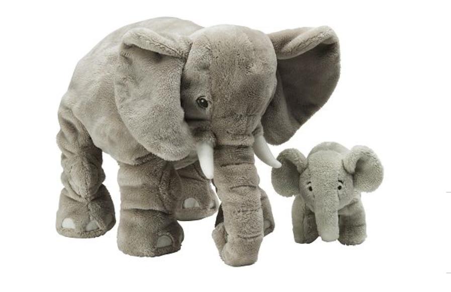 Meine beiden Lieblings-Elefanten: Franz Ferdinand und Fred
