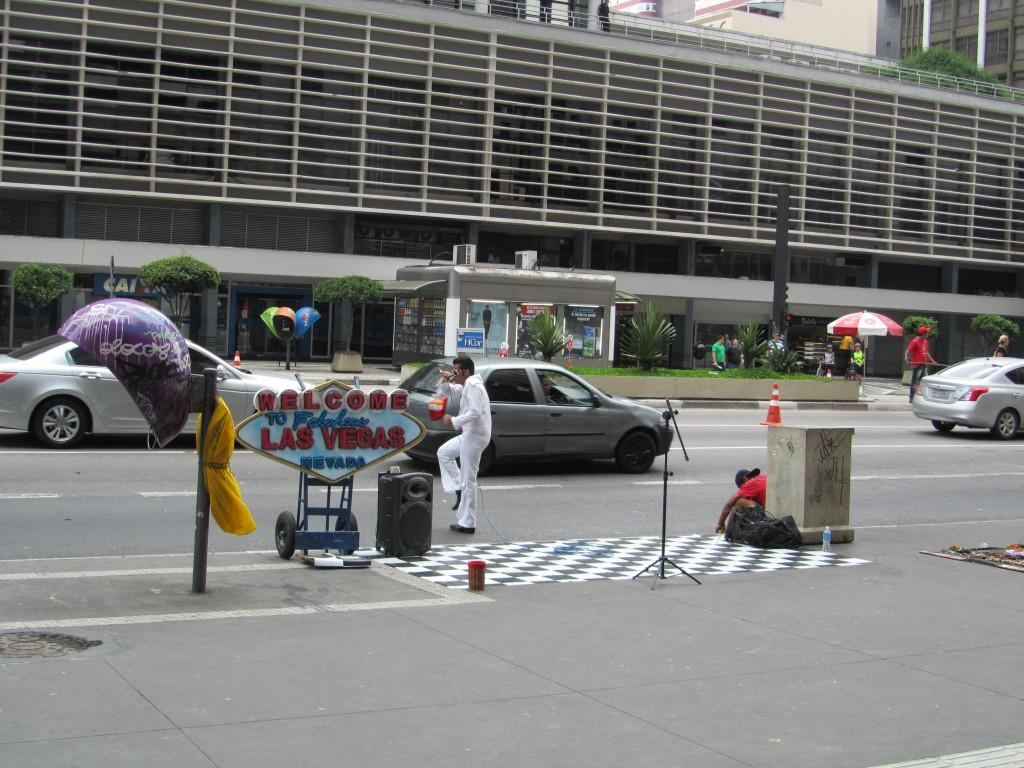 Elvis auf der Paulista!