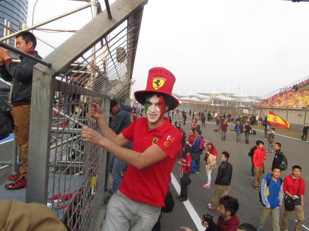 Shanghai - Ferrari-Clown